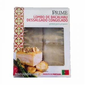 Lombo De Bacalhau Dessalgado Cong. Prime