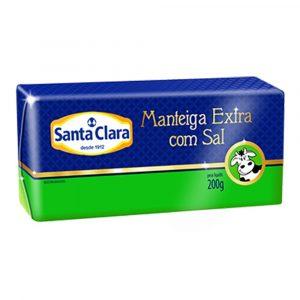 Manteiga Santa Clara com Sal
