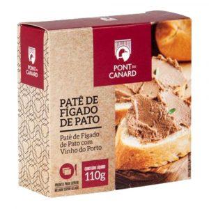 Pate de Fígado de Pato com Vinho Do Porto Pont Du Canard